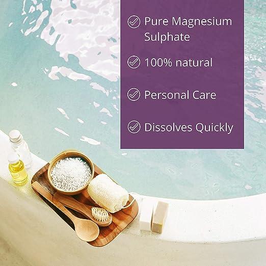 NortemBio Sal de Epsom 4x6 Kg, Fuente concentrada de Magnesio, Sales 100% Naturales. Baño y Cuidado Personal.: Amazon.es: Hogar