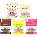 Emmy's Organic Macaroon Cookies Variety Pack 6 ounce (Pack of 5)