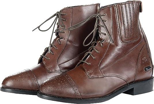 Hkm Stiefeletten Rex Antik Mit Elastikeinsatz Farbe Braun Groesse 39 Schuhe Handtaschen