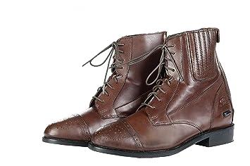 HKM Stiefeletten - Rex Antik - mit Elastikeinsatz Schuhgrösse 39, braun