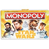 Monopoly Star Wars - Han Solo - 2 to 6 Players - Family Board Games - Movie Inspired - Kids Toys - Ages 8+
