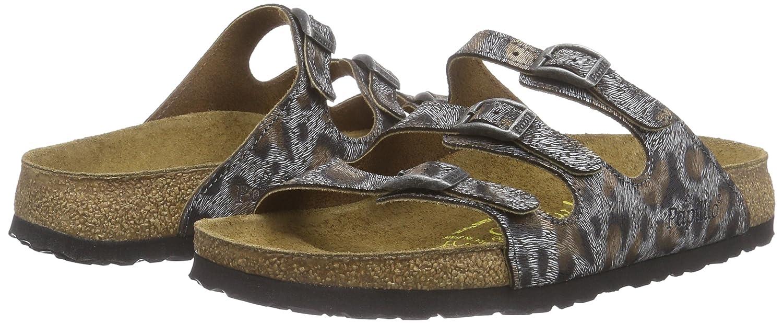 Papillio Florida Damen Damen Florida Pantoletten Mehrfarbig (Leopardo Antique) 1004ee