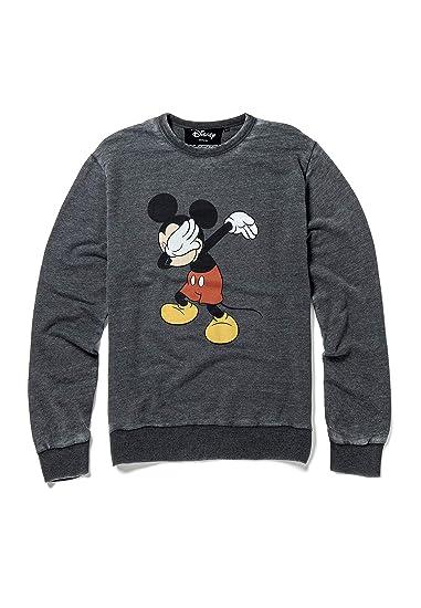 Sweat Disney Mickey Dabbing Gris Moyen
