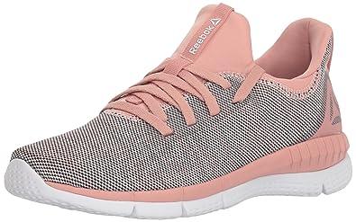 Reebok Women s Print HER 2.0 Sneaker BLND-Pale Chalk Pink Powder Grey White 1277510a6