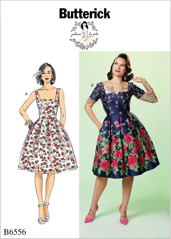 Butterick Patterns Misses' Dress, A5 (6-8-10-12-14)