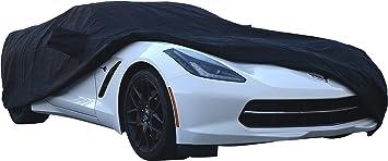 Custom fit Car Cover 2014 2015 2016 2017 2018 Chevy Corvette C7 Black