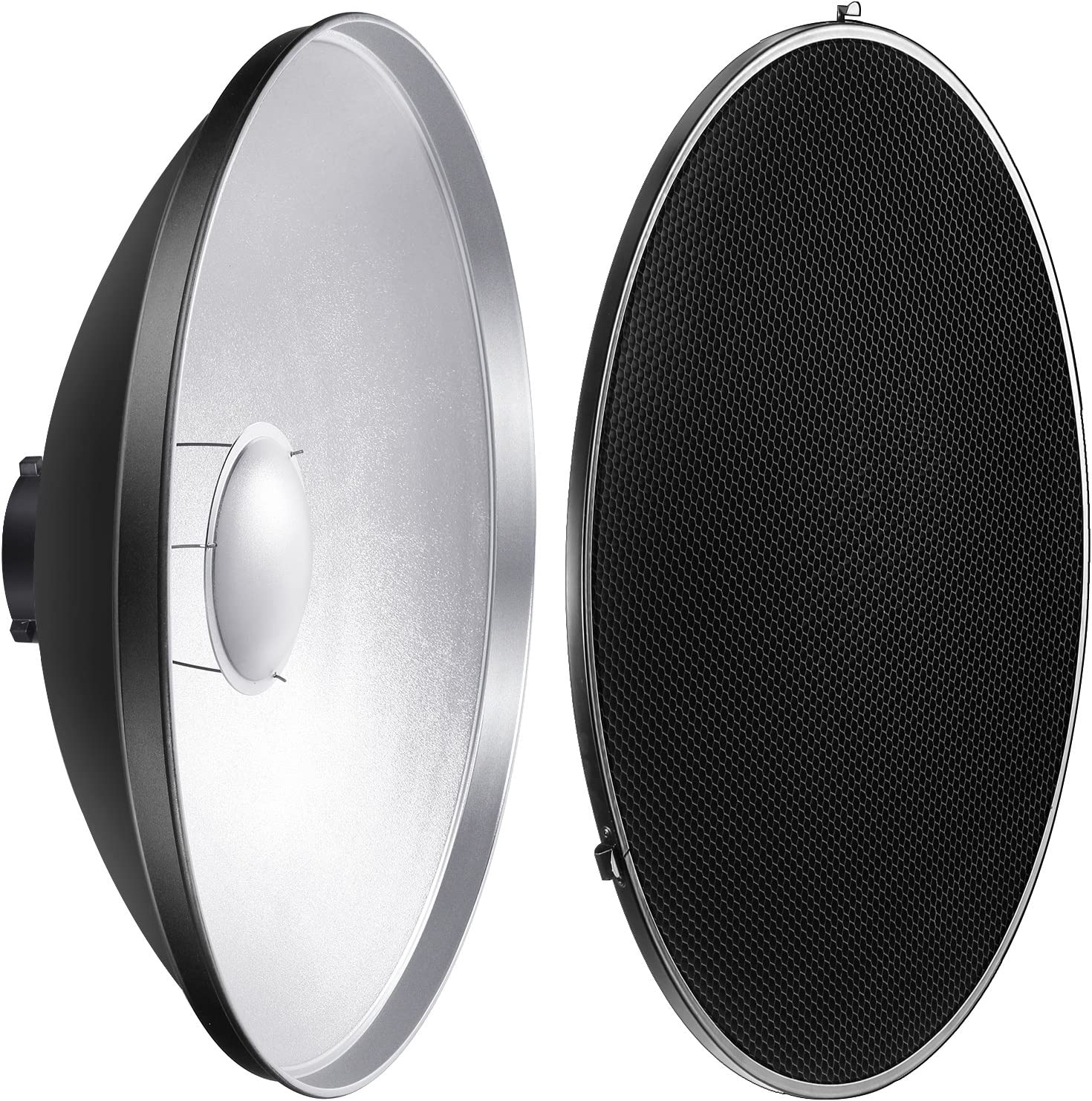 CanadianStudio 16 Interchangeable Beauty Dish Photo Studio with Honeycomb Grid for Bowens