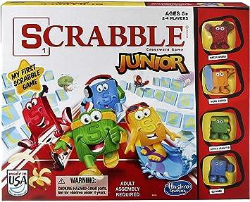 Hasbro - Juego Scrabble Junior para 2 - 4 Jugadores (B0325): Amazon.es: Juguetes y juegos