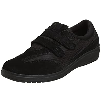 4429f1ced9 Amazon.com | Grasshoppers Women's Stretch Plus Hook-and-Loop Sneaker ...