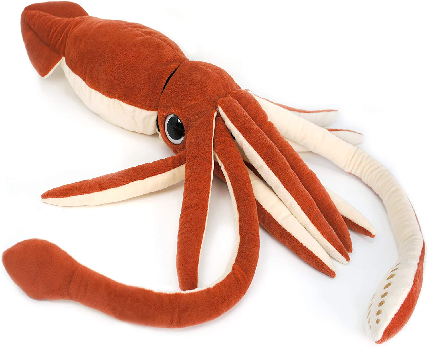 Amazon Com Viahart Shubert The Squid 35 Inch Large Stuffed Animal Squid By Tiger Tale Toys Toys Games