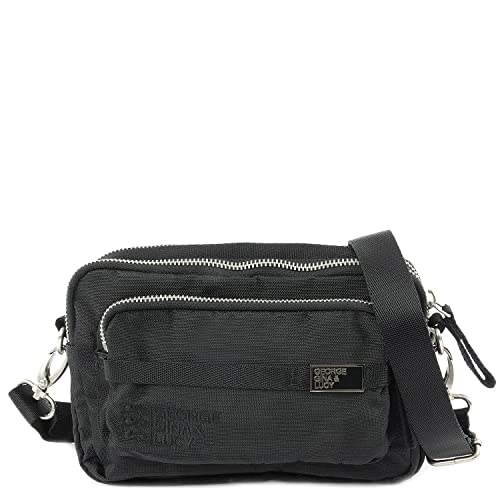 48984fffdcc5 George Gina   Lucy Basic Nylon Love Letters Waist Pack black  Amazon ...