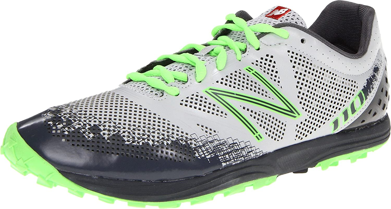 Amazon.com | New Balance Mens MT110 NBX Trail Running Shoe, Grey/Green, 7 2E US | Trail Running