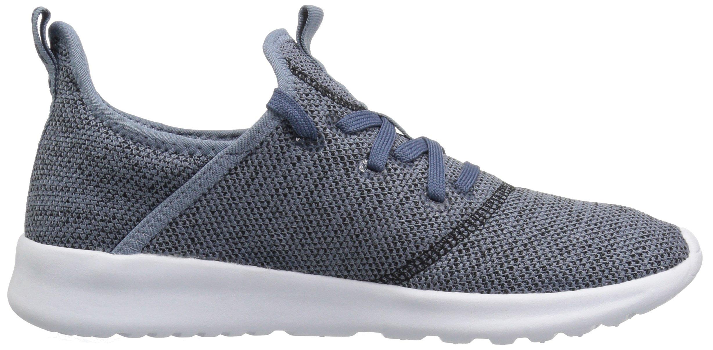 adidas Performance Women's Cloudfoam Pure Running Shoe, Raw Grey/Tech Ink/Black, 5 M US by adidas (Image #9)