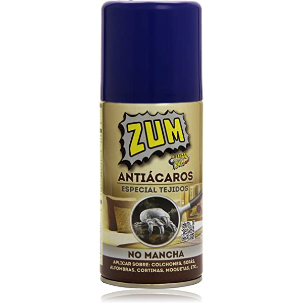 ZUM antiácaros spray 300 ml: Amazon.es: Industria, empresas y ciencia