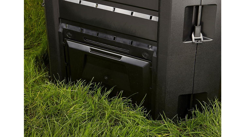 Prosperplast - Compogreen - compostador (800 litros), Color Negro ...