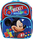 "Disney Mickey Mouse M28 12"" Toddler Backpack-A07647"