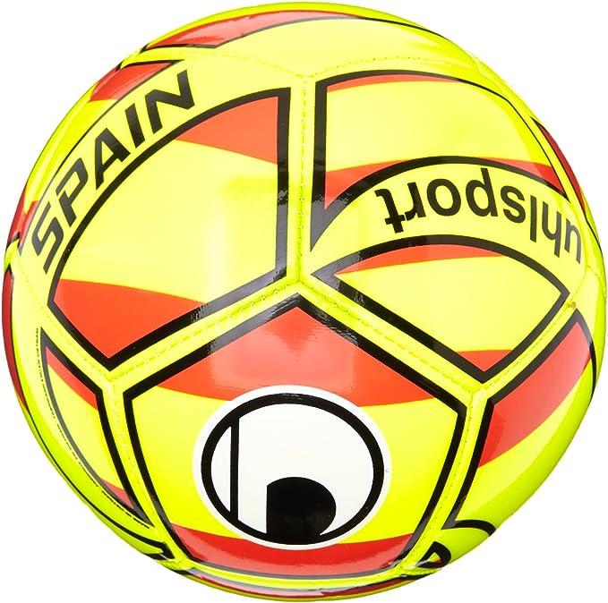 uhlsport Pelotas Naciones Ball Mini España, Amarillo/Rojo/Negro, 0, 1001620032016: Amazon.es: Deportes y aire libre