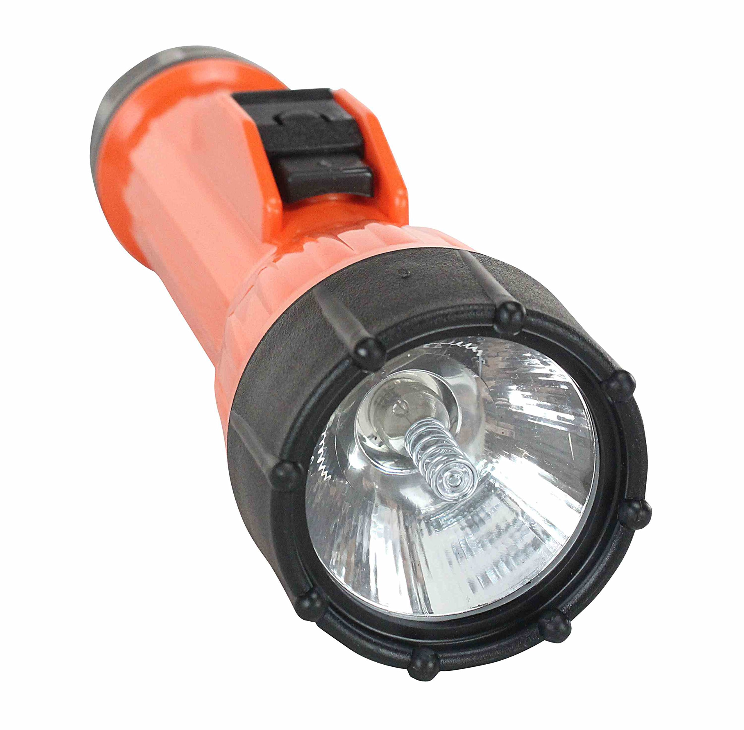 Waterproof Flashlight - Explosion Proof Flashlight - 2 D-Cell - MADE IN THE USA