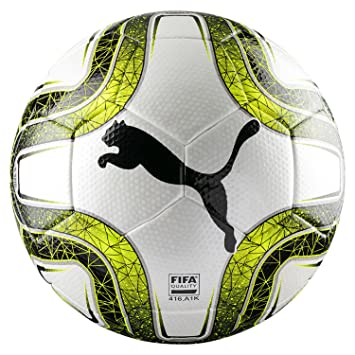 Puma Final 3 Tournament (FIFA Quality) Balón de Fútbol, Unisex, White/Lemon Tonic Black, 5: Amazon.es: Deportes y aire libre