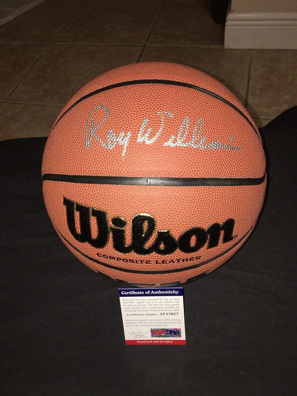 Roy Williams Signed Ncaa Basketball University F North Carolina