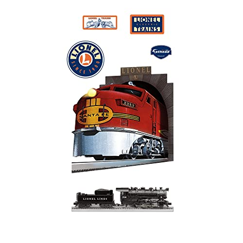 Realistic Train Wall Decals Lionel Santa Fe Train