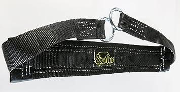 Spud cinturón cinturón musculación tamaño pequeño para levantamiento de pesas Crossfit levantamiento de potencia, negro