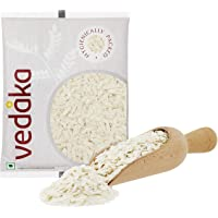 Amazon Brand - Vedaka Poha (Flattened Rice), Medium, 500g