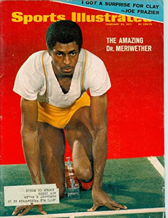 Amazon Com 1971 Sports Illustrated February 22 Del Meriwether Sports Collectibles