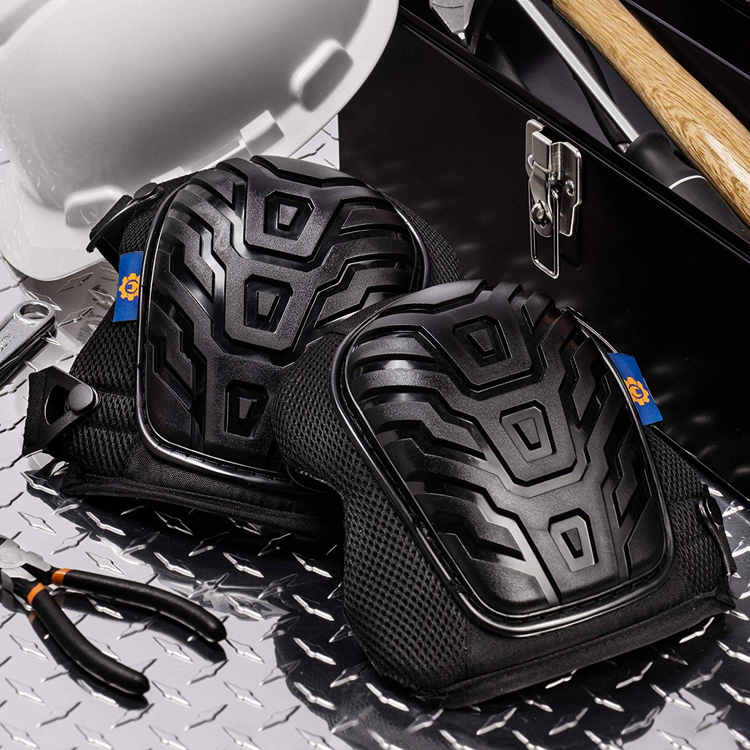Rough Work Gear Professional Knee Pads - Built Tough To Last - Will Stay In Place All Day Long by Rough Work Gear (Image #3)