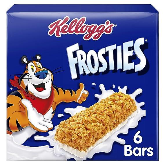 Kelloggs Barritas Frosties - 2 Paquetes de 6 barritas - Total: 300 gr