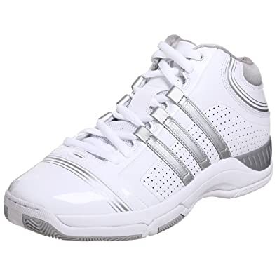 adidas Men's Supercush 3 Basketball Shoe,White/Silver/White,11 ...