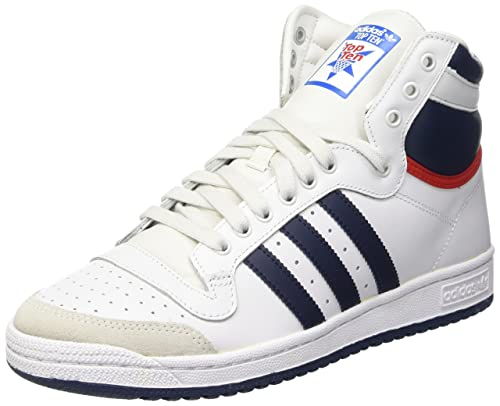 adidas Top Ten Hi, Men's Hi-Top Sneakers, White (Neo White S08
