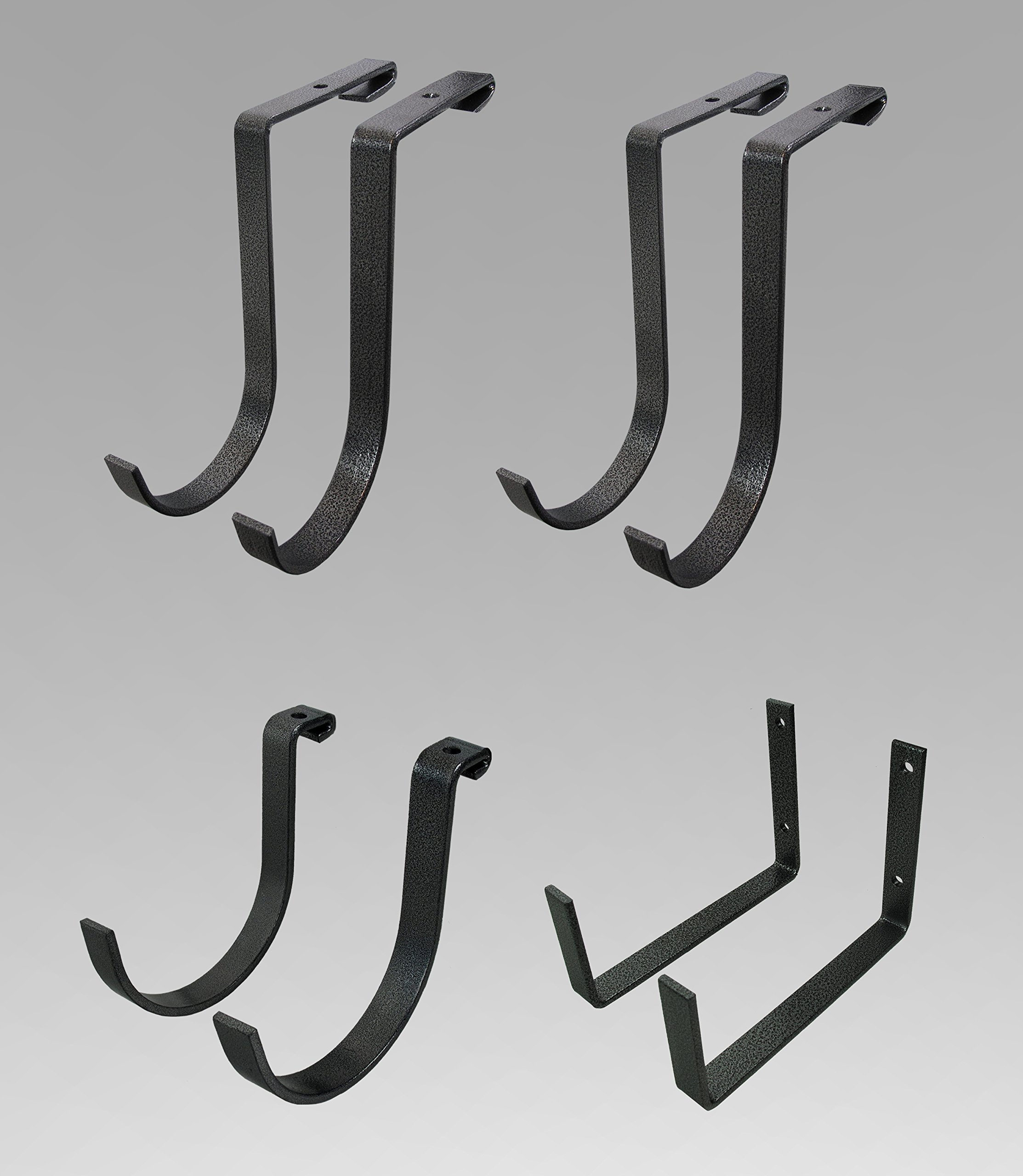 MonsterRax Accessory Hook Package - Standard, Hammertone by MonsterRax
