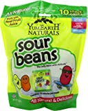 YumEarth Naturals, Sour Jelly Beans, 10 Snack Packs, 20 g Each