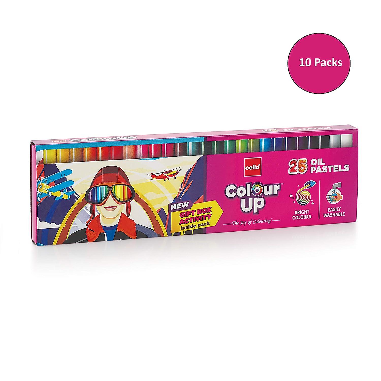 Cello Pens ColourUp Oil Pastels – 10 Packs