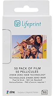 lifeprint 3x4.5 paper  : Lifeprint 3x4.5 Portable Photo and Video Printer for ...