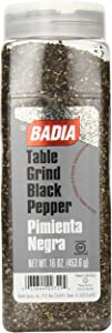 Badia Black Pepper Table Grind, 16 Ounce