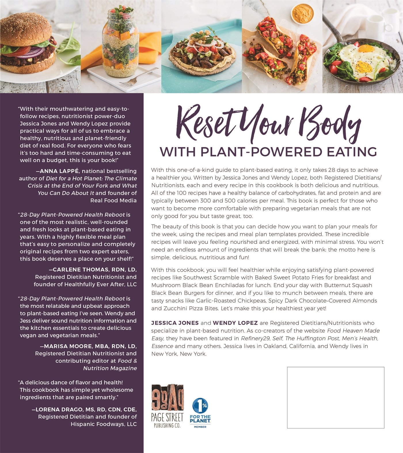 28 Day Plant Powered Health Reboot Reset Your Body Lose Weight Gain Energy Feel Great Jessica Jones Wendy Lopez 9781624143588 Amazon Books