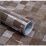 5 M Oder 10 M Vinyl Selbstklebend Folie PVC Mosaik Wallpaper Bad Küche  Wasserdicht Fliesen