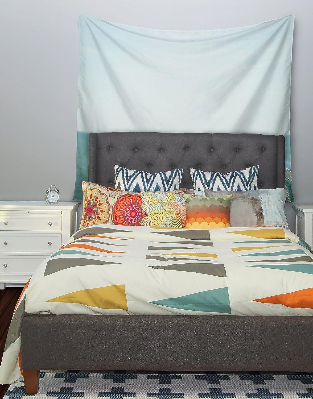 51 X 60 Kess InHouse Robin Dickinson Ocean View Ocean Blue Wall Tapestry