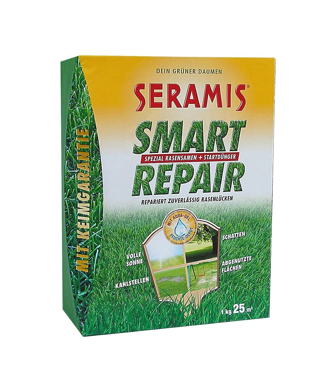 gelb Seramis Smart Repair Rasensamen mit D/ünger f/ür 25 m/² 19,3 x 9,4 x 24,8 cm 731045