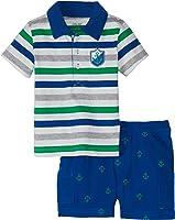 Little Me Baby Boys' Anchor Woven Short Set