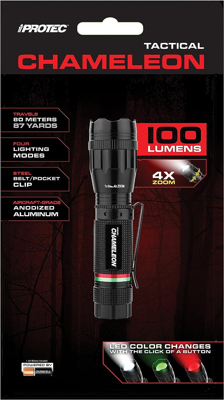 Lappel ip5905/iprotec Chameleon LED 100/lumens vert//rouge