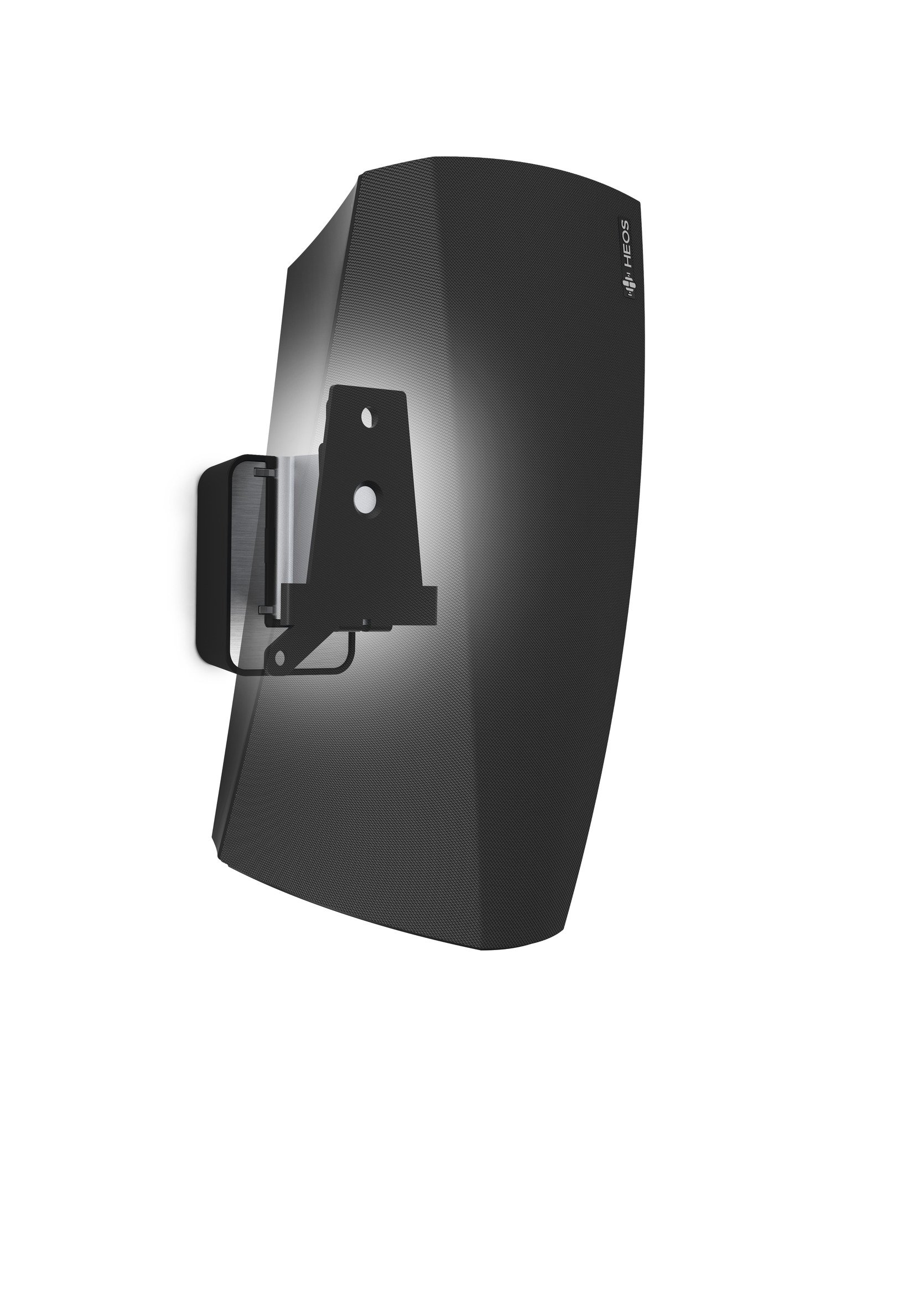 Vogel's Speaker Wall Mount for Denon HEOS - SOUND 5203 B for HEOS 3, Black (single mount)