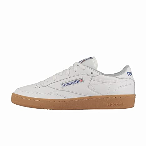 C Bianco Reebok 85 Amazon Sportivo shoes Club 35RjSqc4AL