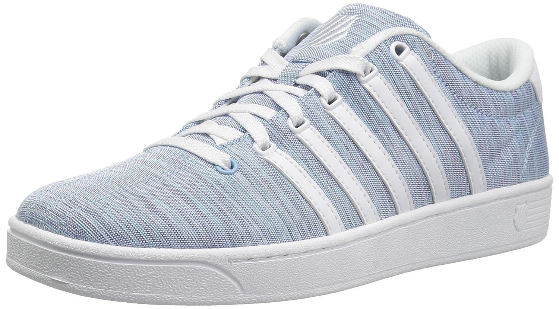 K-Swiss Women's Court Pro II T CMF Sneaker B073WR41D1 6.5 B(M) US|Sky Blue/White
