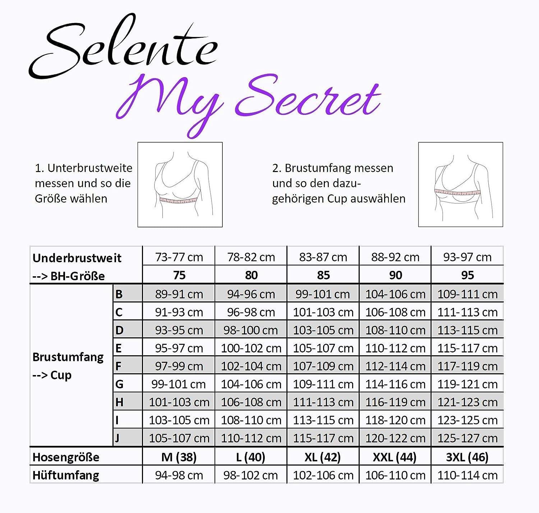 Bonnets C-H Selente My Secret Maillot de Bain Taille Haute Shaping Femme Une pi/èce//Bikini Grande Taille fabriqu/é dans lUE