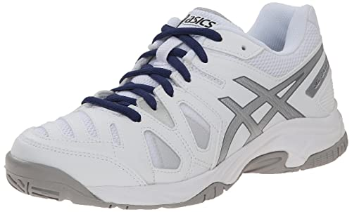 Gs White Amazon Silver ca Shoe Onyx Tennis Kids 1 Asics Gelgame 5 0qxvvfA