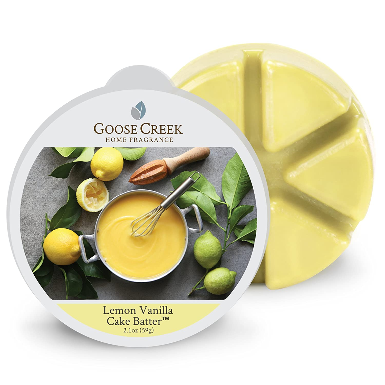 Goose Creek Lemon Vanilla Cake Batter Wax Melt Pack, Yellow EW267