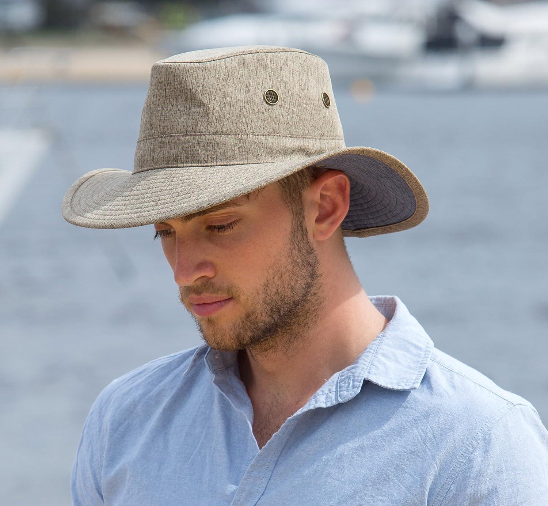 Rigon Headwear Hombre para Mujer UV de Safari Sombrero